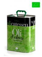 Aceite de Oliva Virgen Extra - Ecológico - Lata de 3 Litros - Olicatessen - Els Torms - Lleida
