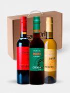 Pack Vinagres Agridulces Gourmet de Merlot, Porto y Riesling - 3 Botellas de 375ml - Castell de Gardeny