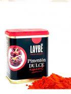Pimentón Dulce molido - Lata 80grs. Laybé Premium