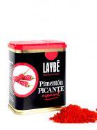 Pimentón Picante molido - Lata 80grs. - Laybé Premium