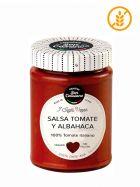 Salsa Italiana de Tomate con Albahaca - Gourmet - Frasco 290grs. - San Cassiano