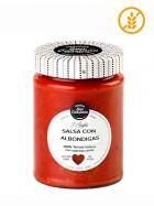 Salsa Italiana de Tomate con Albóndigas - Gourmet - Frasco 290grs. - San Cassiano