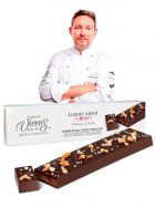 Turrón Albert Adrià - Pan, Aceite y Chocolate - Estuche de 250grs. - Torrons Vicens