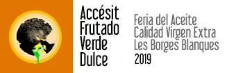 Accésit Frutado Verde Dulce 2019