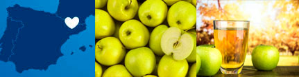zumo de manzana natural cal valls, origen y presentación