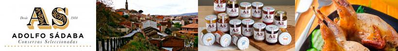 Conservas gourmet Adolfo Sádaba en sabority