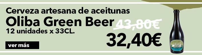 Oferta Cerveza Oliba Green Beer