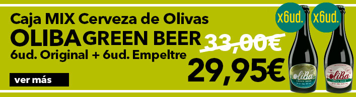 Oferta Caja Mix Cerveza Oliba Green Beer