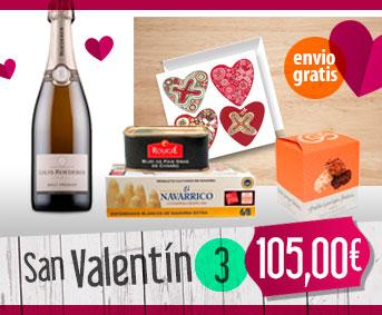 Comprar Pack Regalo San Valentín 3