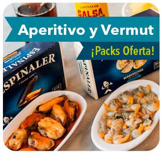 Comprar aperitivos y vermut gourmet