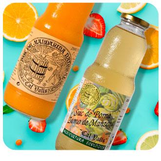 Comprar zumos de fruta gourmet y ecológicos