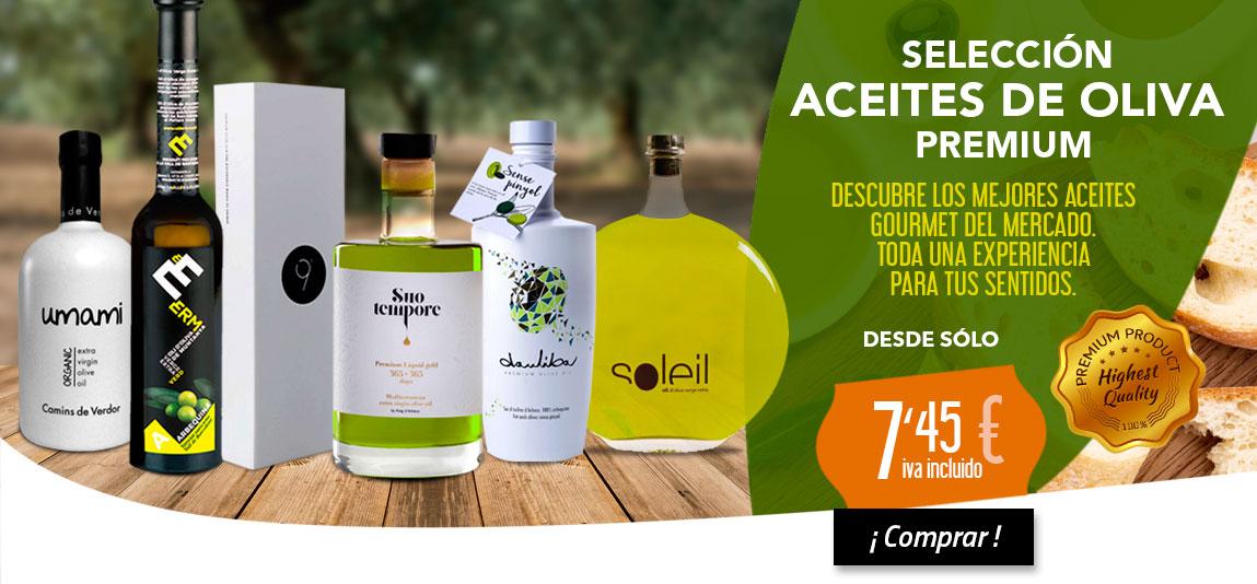 Los mejores aceites premium gourmet, oleoteca