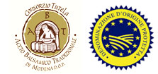 Logo Indicación geográfica protegida aceto balsámico de módena