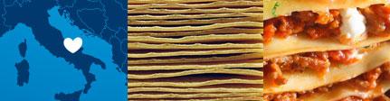Pasta de Lasagna la Molisana origen y presentación