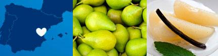 origen sugerencia de presentación de peras en almíbar de la jalancina