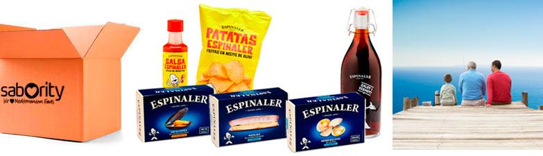 Pack Blue - Aperitivo Gourmet - Espinaler en Sabority