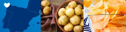 Patatas Bonilla Gourmet, origen y presentación