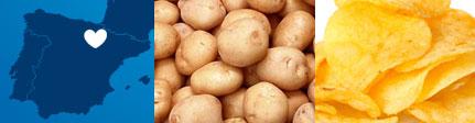 Patatas Fritas Gourmet de Espinaler · Origen sugerencia de presentación