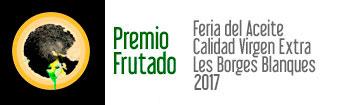 Premio Frutado - Feria del Aceite de Borges Blanques