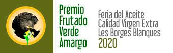 Premio frutado verde amargo Fira de Borges