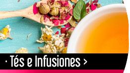 Tés e infusiones Gourmet